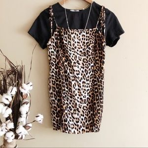 COPY - Forever 21 Cheetah Print Slip Dress